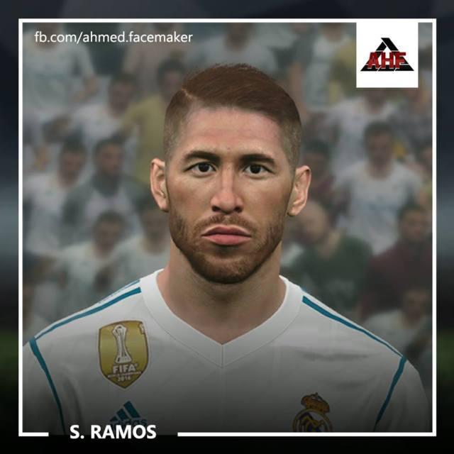Face Sergio Ramos PES 2017
