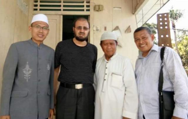 Ponpes  DDI Mangkoso Kedatangan Syekh dari Makkah