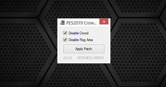 Crowd Disabler Tool | PES2019 | PC [04 09 2018] | Pes Free