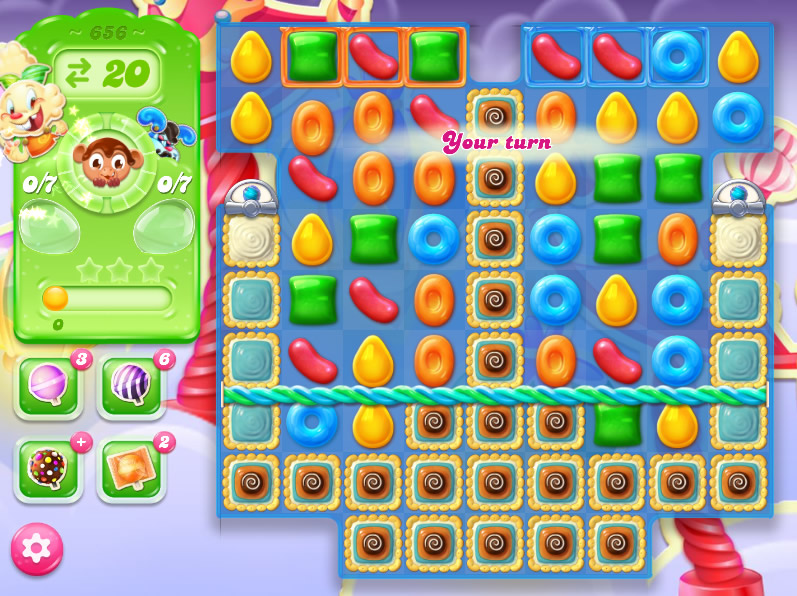 Candy Crush Jelly Saga level 656