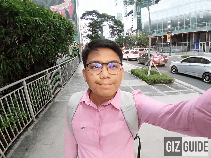 Face beauty wide selfie