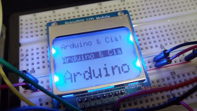 display lcd nokia 5110 Arduino