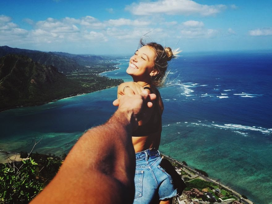 Couple Travels The World And Shows Us What A Fairytale Relationship Looks Like