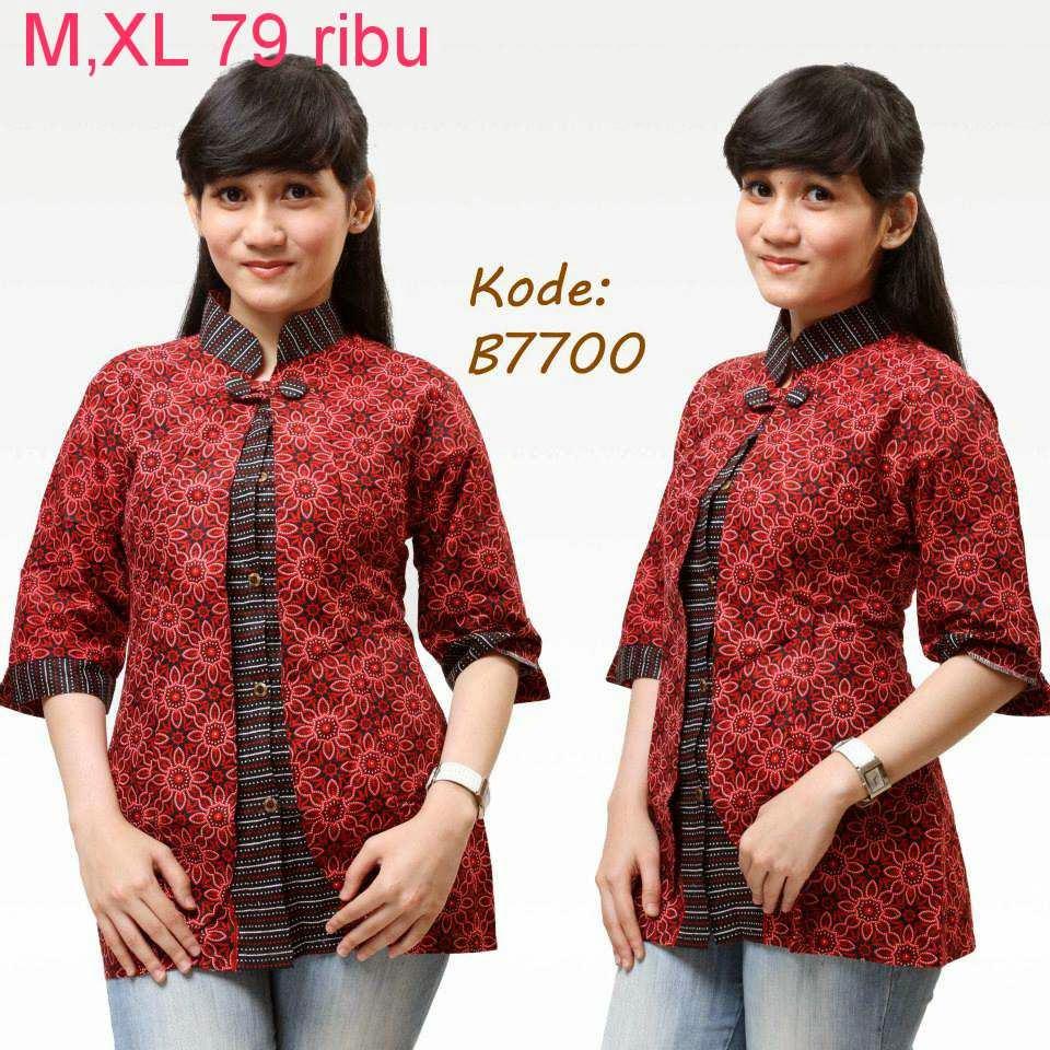 Macam Model Baju Batik: Macam Macam Model Baju Batik