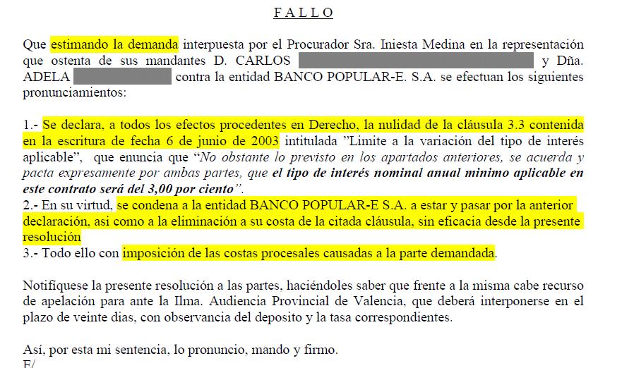 Documentos de ayuda cl usula suelo for Hipoteca suelo bbva