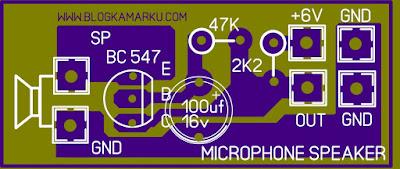Cara membuat Mikrophone dari speaker kualitas bagus