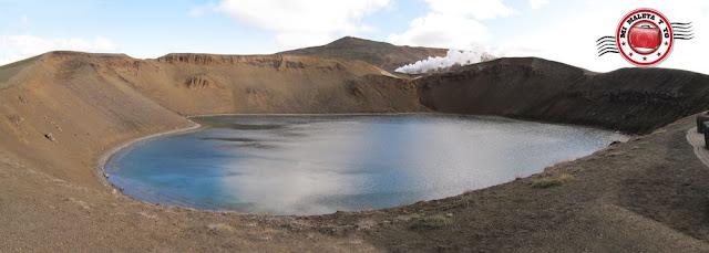Volcán Krafla y Viti