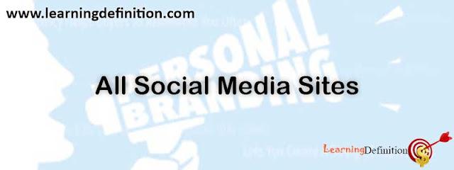social meida sites