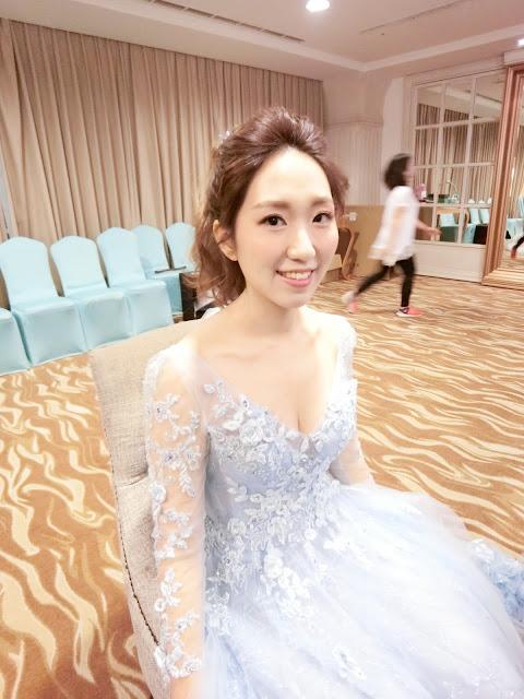 台北新秘 | 新娘秘書 | 婚禮造型 | 新娘造型 | 新秘推薦 | 敬酒送客造型2017