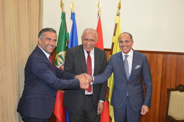 Comitiva de Agadir visitou concelho de Olhão
