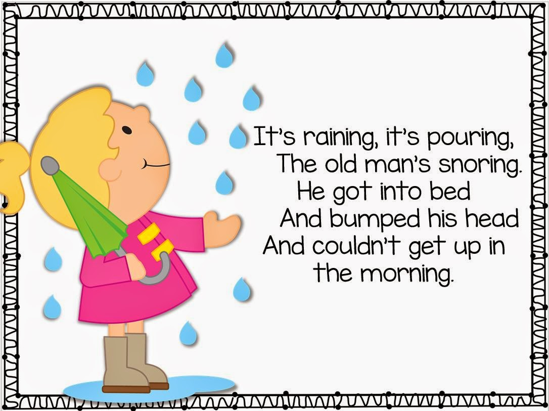 Freebie Kindergarten Weekly Poems Little Minds At Work