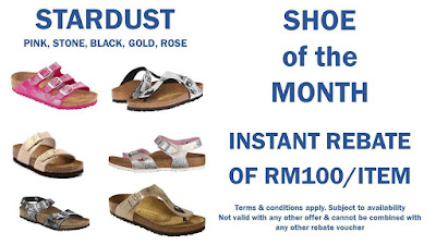 Birkenstock Malaysia Instant Rebate Discount Offer Promo