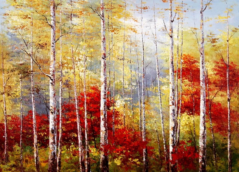 Cuadros pinturas oleos cuadros paisajes naturales al leo - Como pintar cuadros faciles ...