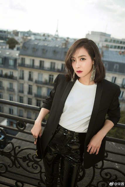 Victoria Song Paris Fashion Week