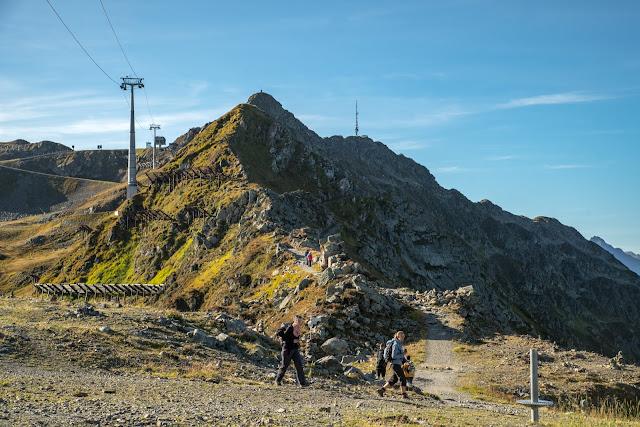Gipfelweg Zamangspitze  Wandern Silvretta-Montafon  Vorarlberg 08