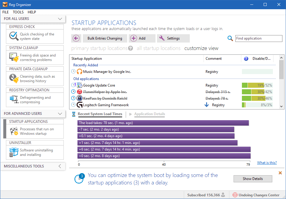Reg Organizer v8.29 Full version