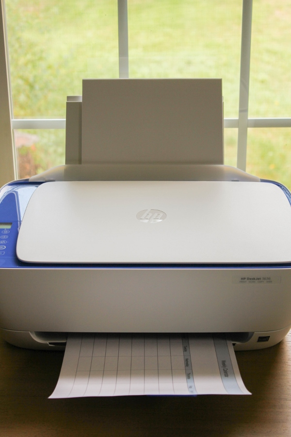 Back to School with HP Printers | The Chef Next Door