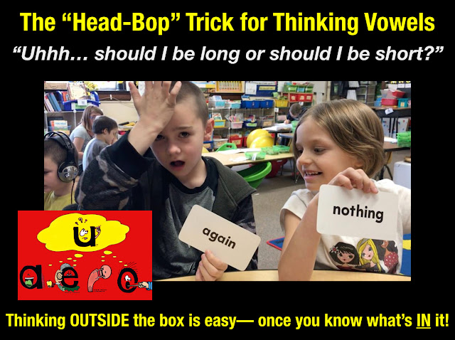 """Secret Stories Phonics —  ""Head-Bop"" Trick for Fickle Vowels (and NO MORE Sight Words!)"