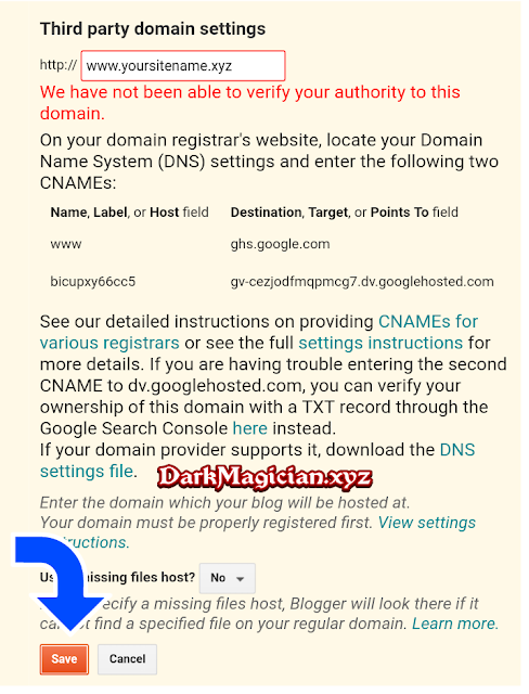 Blogger Course Domain Configuration Part 3 হতে চান নাকি আপনি ও একটি Website এর Owner 28