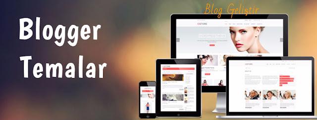 Responsive (Her Cihaza Uyumlu) Blogger Temaları