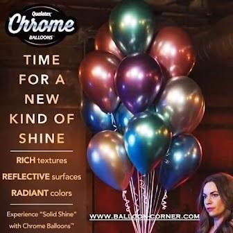 Balon Latex Chrome (QUALATEX)
