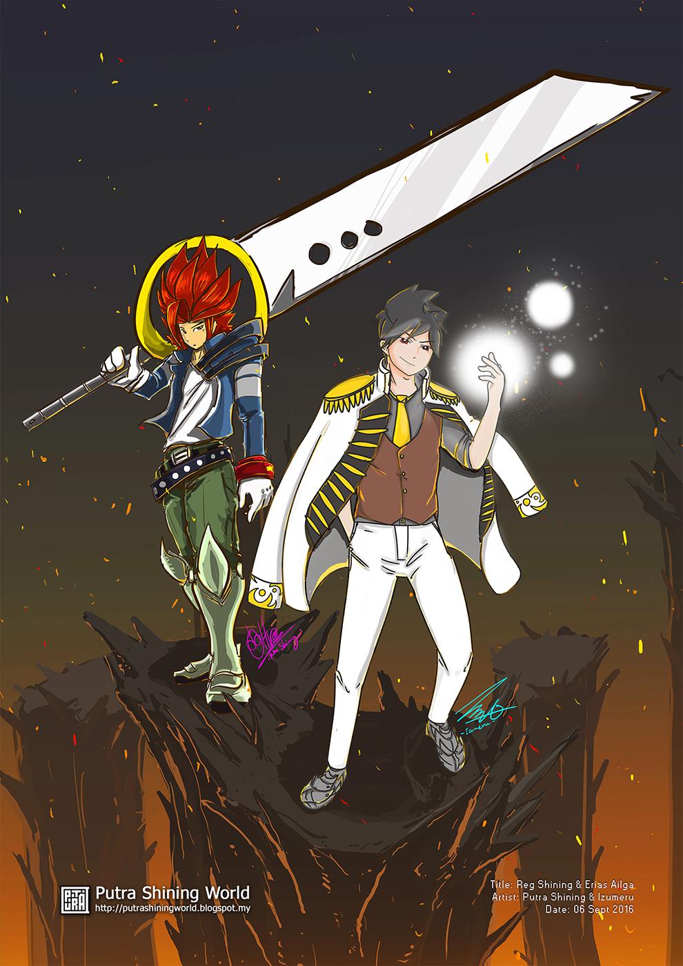 Reg Shining -  Putra's Original Character