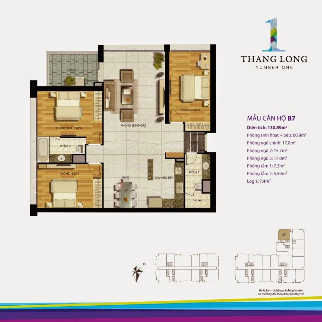 Căn B7- 130,89 m2