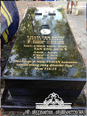 Makam Granit Kristen, Model Kuburan Kristen Sederhana, Makam Granit Kristen
