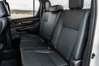 Toyota Hilux Invincible X Double Cab (2019) Rear Seats