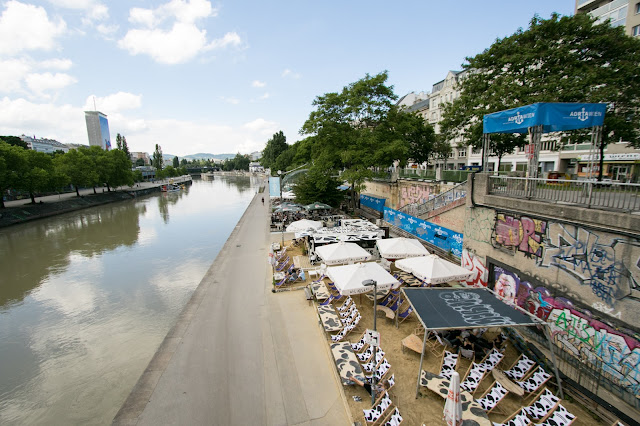 Ponte sul Danubio-Vienna