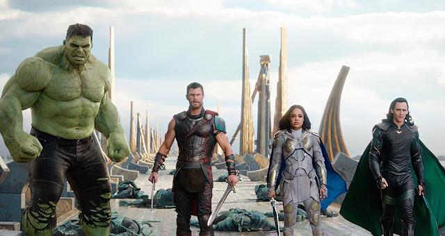 Chris Hemsworth Tom Hiddleston Taika Waititi | Marvel Studios | Thor: Ragnarok