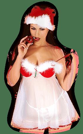 Chicas Sexys Para Navidad Png