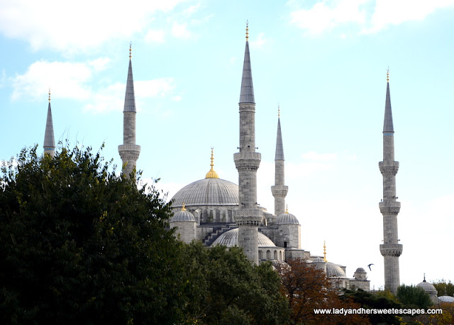The Blue Mosque from afar
