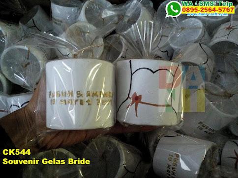Toko Souvenir Gelas Bride