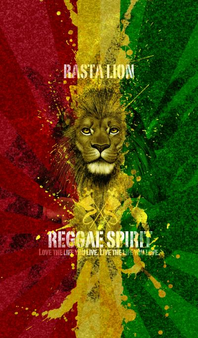 Rasta lion reggae spirit 3