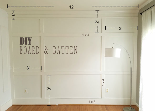 how to install board and batten