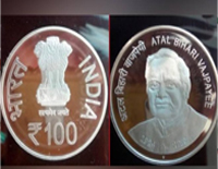 In Vajpayee Memory, PM Modi Launches Rs.100 Coin
