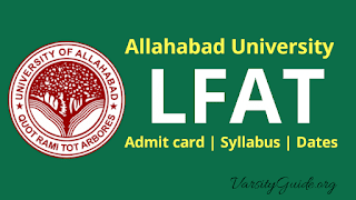 Allahabad University Law Faculty Admission Test 2019