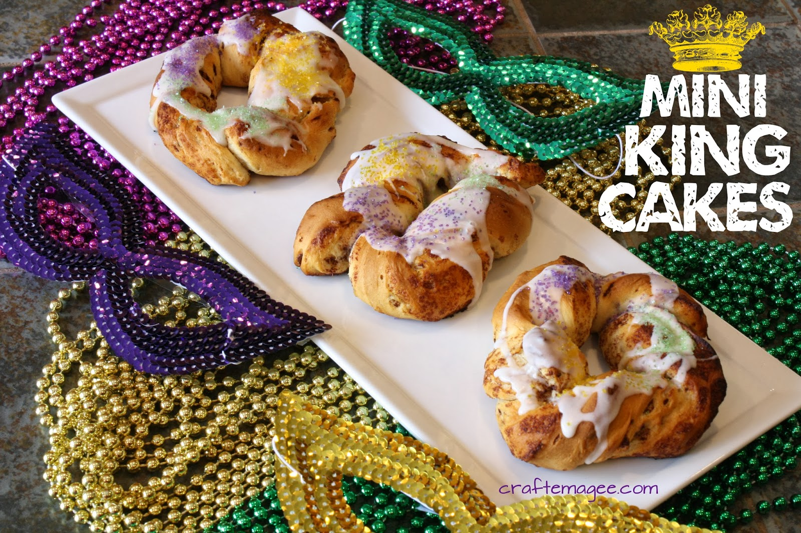 The Plastic Baby In A King Cake