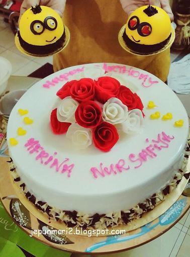 cara buat kek minion