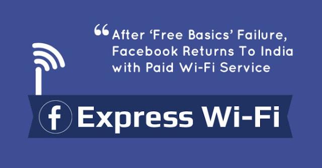 Facebook WiFi Service India