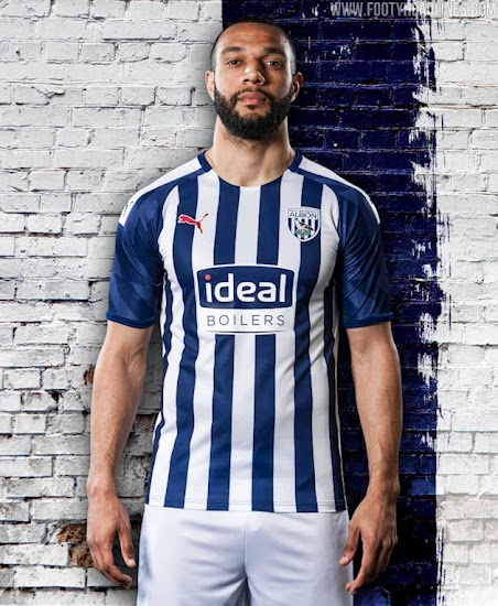 West Bromwich Albion 19 20 Home Kit Released Footy Headlines