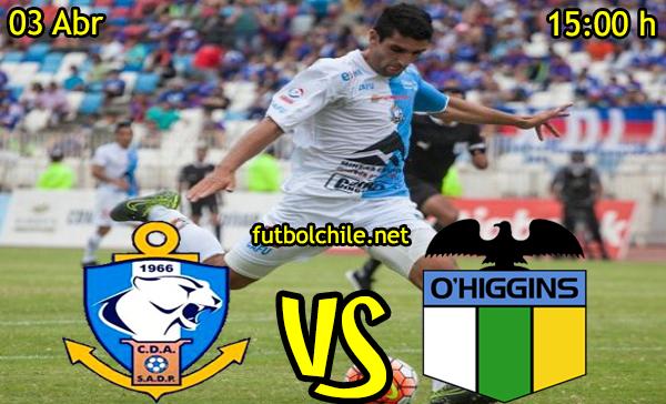 VER STREAM RESULTADO EN VIVO, ONLINE: Deportes Antofagasta vs O'Higgins