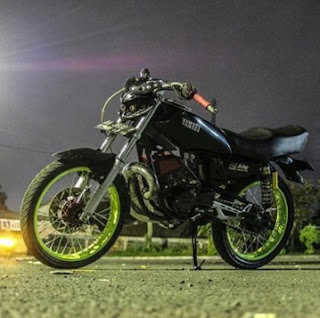headlamp Yamaha RX King  modifikasi