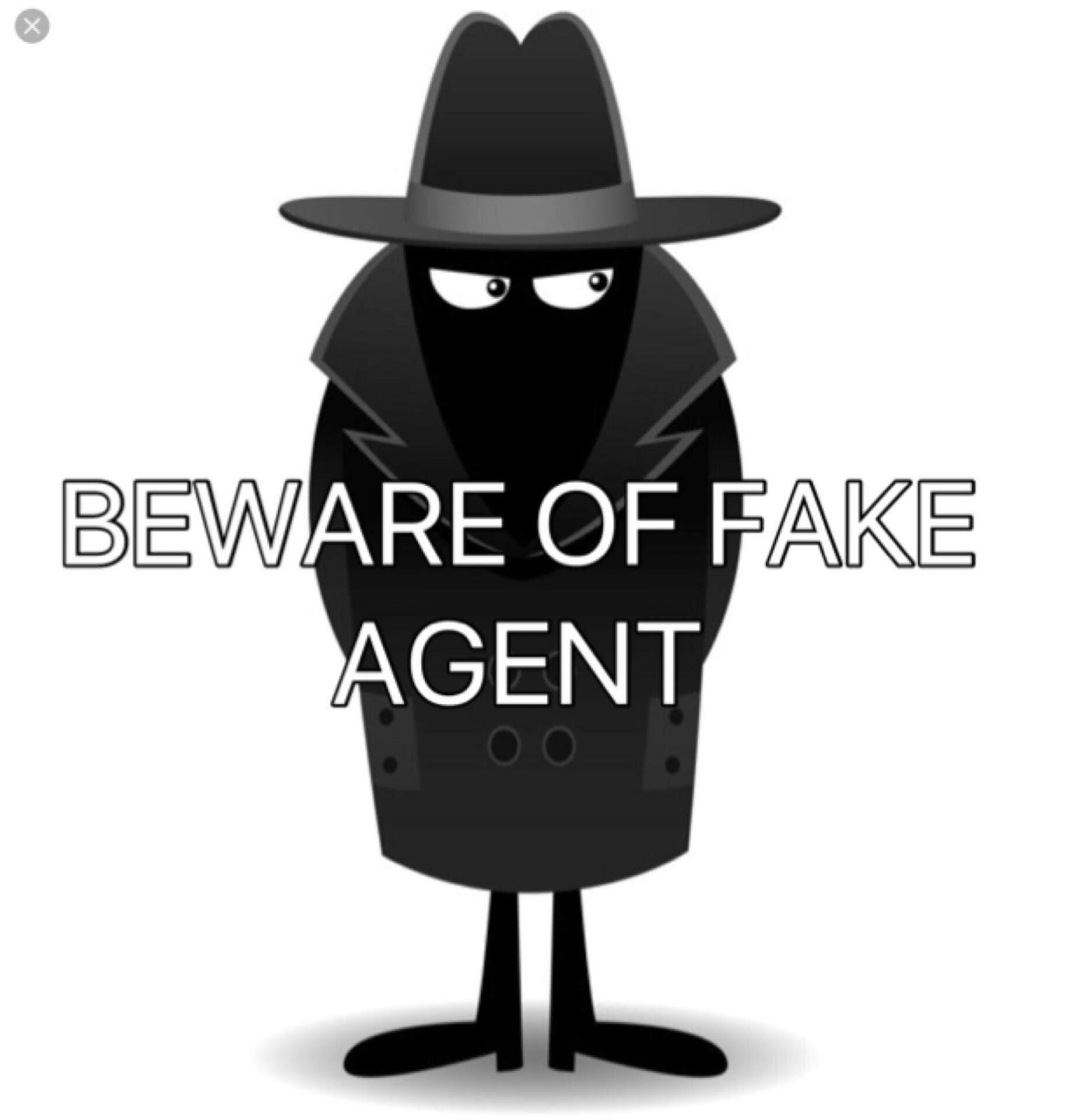 Agent Fake reminder:beware of fake agents ~ pinoy refresher