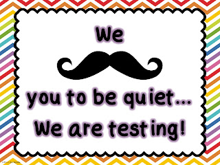 Free classroom testing poster