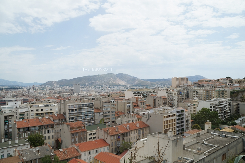 Marseille Großstadt Frankreich Ausblick Sommerurlaub Reisen