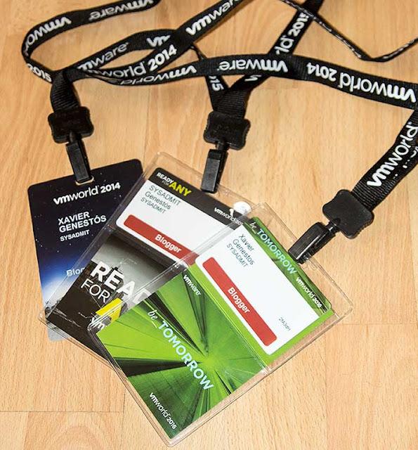 VMWare: VMWorld 2016 Barcelona