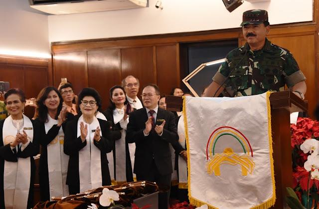 Panglima TNI : Misa Malam Natal Berjalan Aman dan Damai
