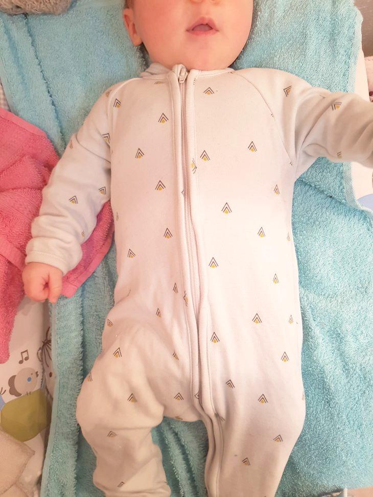 pyjama comete paris à zip pour bébé